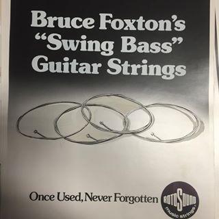 Rotosound's Bruce Foxton Promotion