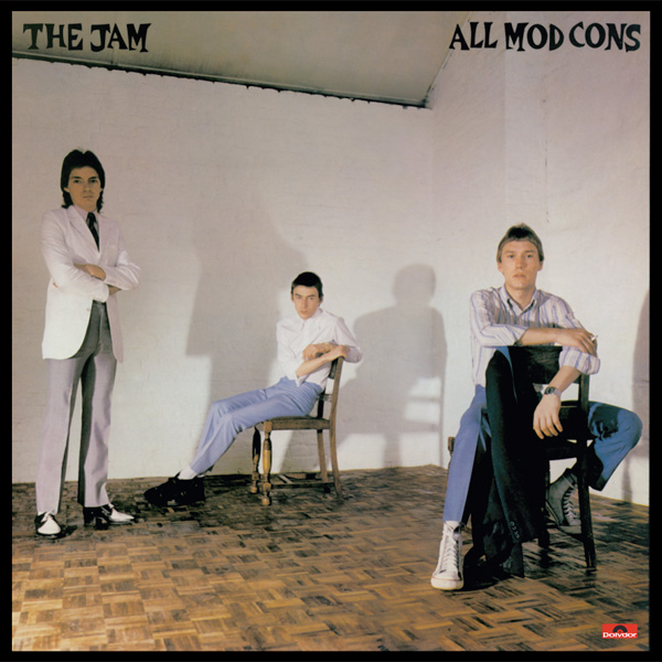 The Jam album All Mod Cons, front cover