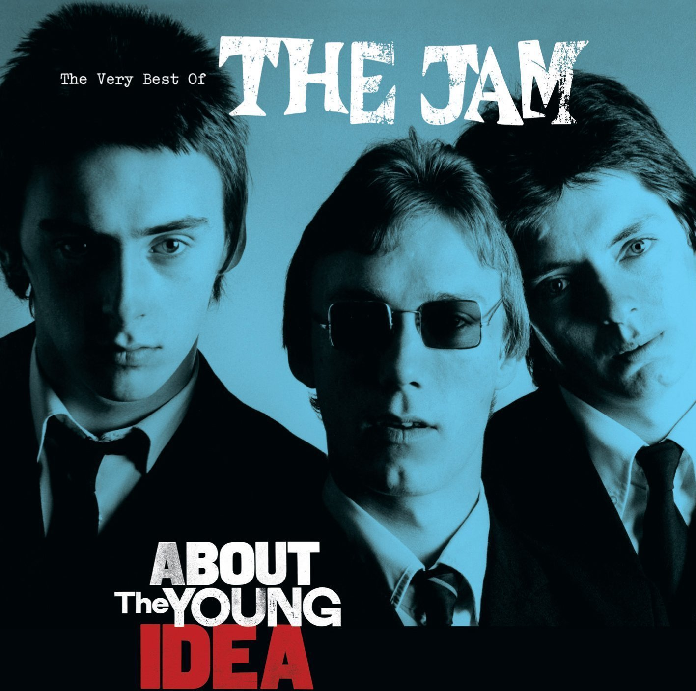 The Jam compilation album, About The Young Idea, front cover