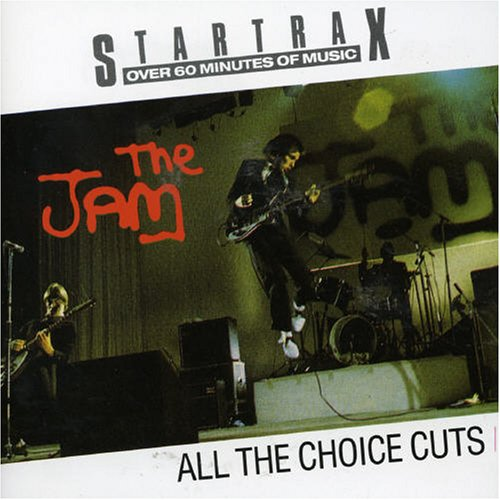 The Jam compilation album, All The Choice Cuts, front cover