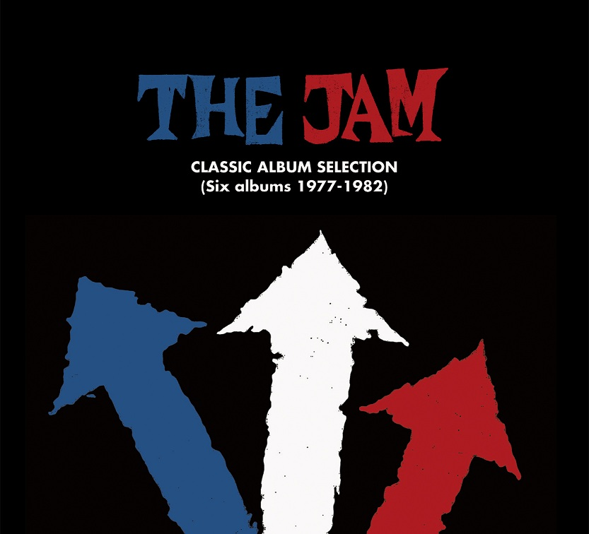 The Jam compilation album, Classic Album Selection, front cover