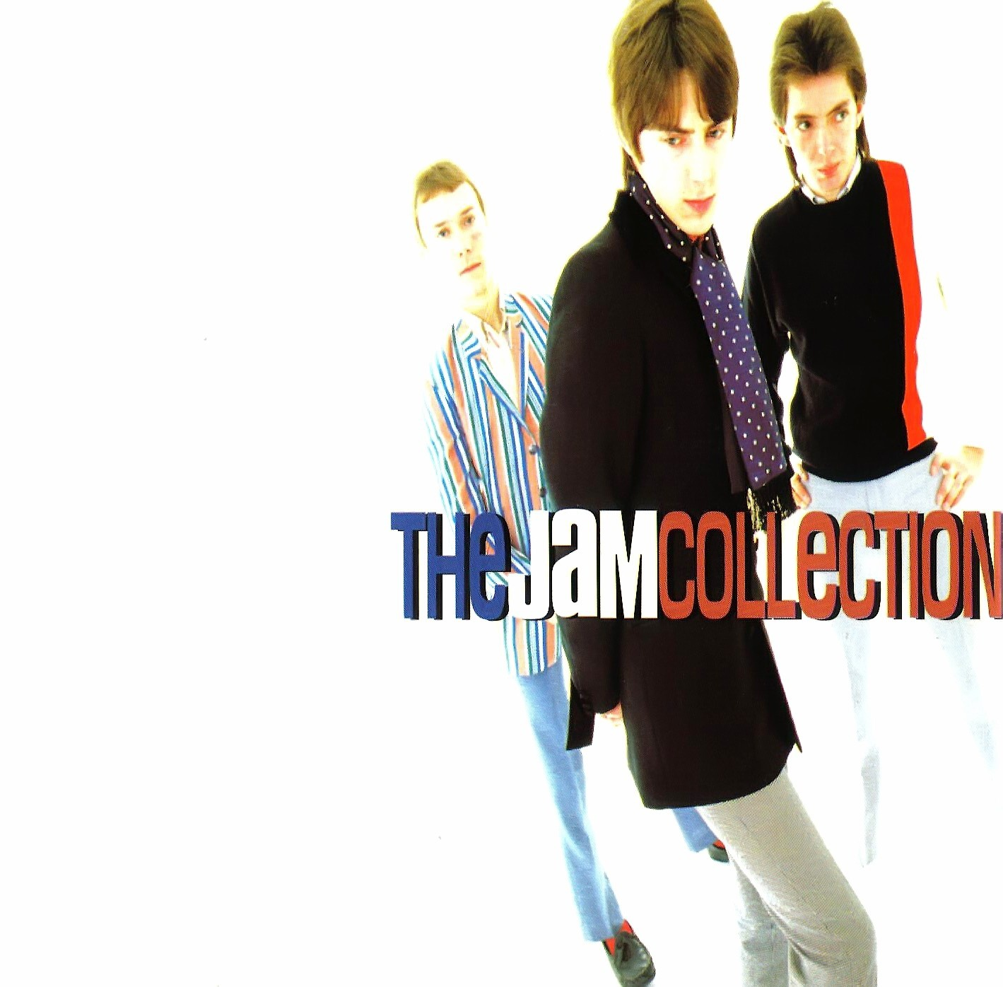 The Jam compilation album, The Jam Collection, front cover