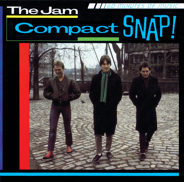 The Jam compilation album, Compact Snap, front cover