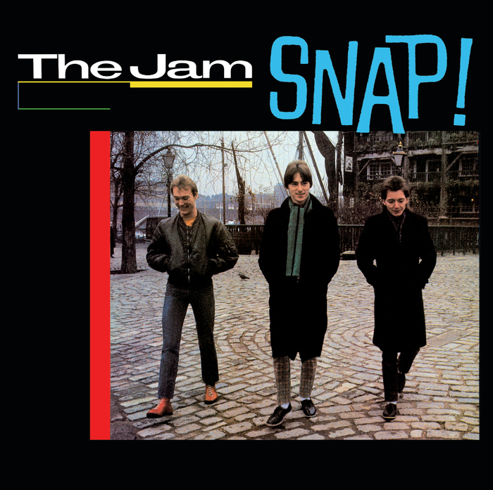 The Jam compilation album, Snap, front cover