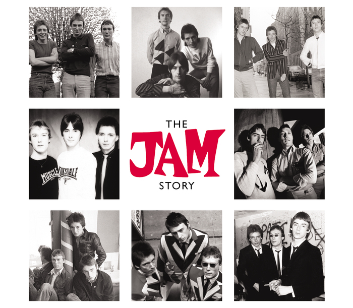 The Jam compilation album, The Jam Story, front cover