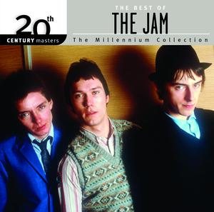 The Jam compilation album, The Millennium Collection, front cover