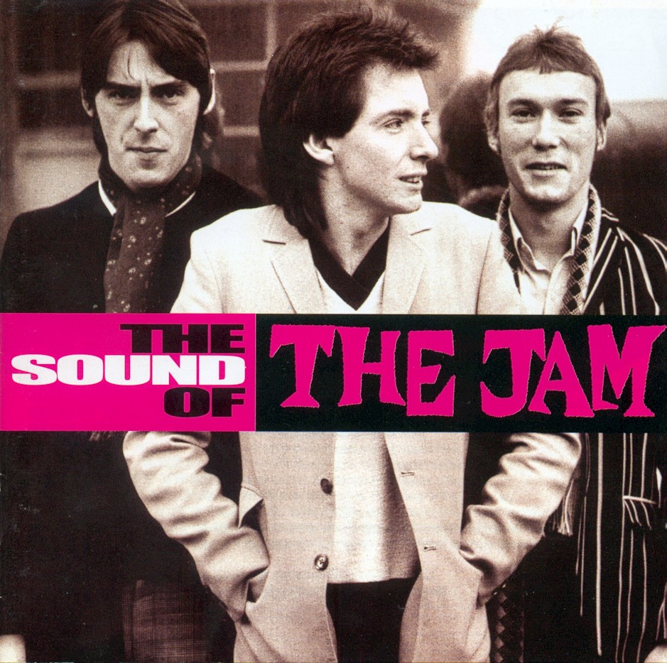 The Jam compilation album, The Sound Of The Jam, front cover