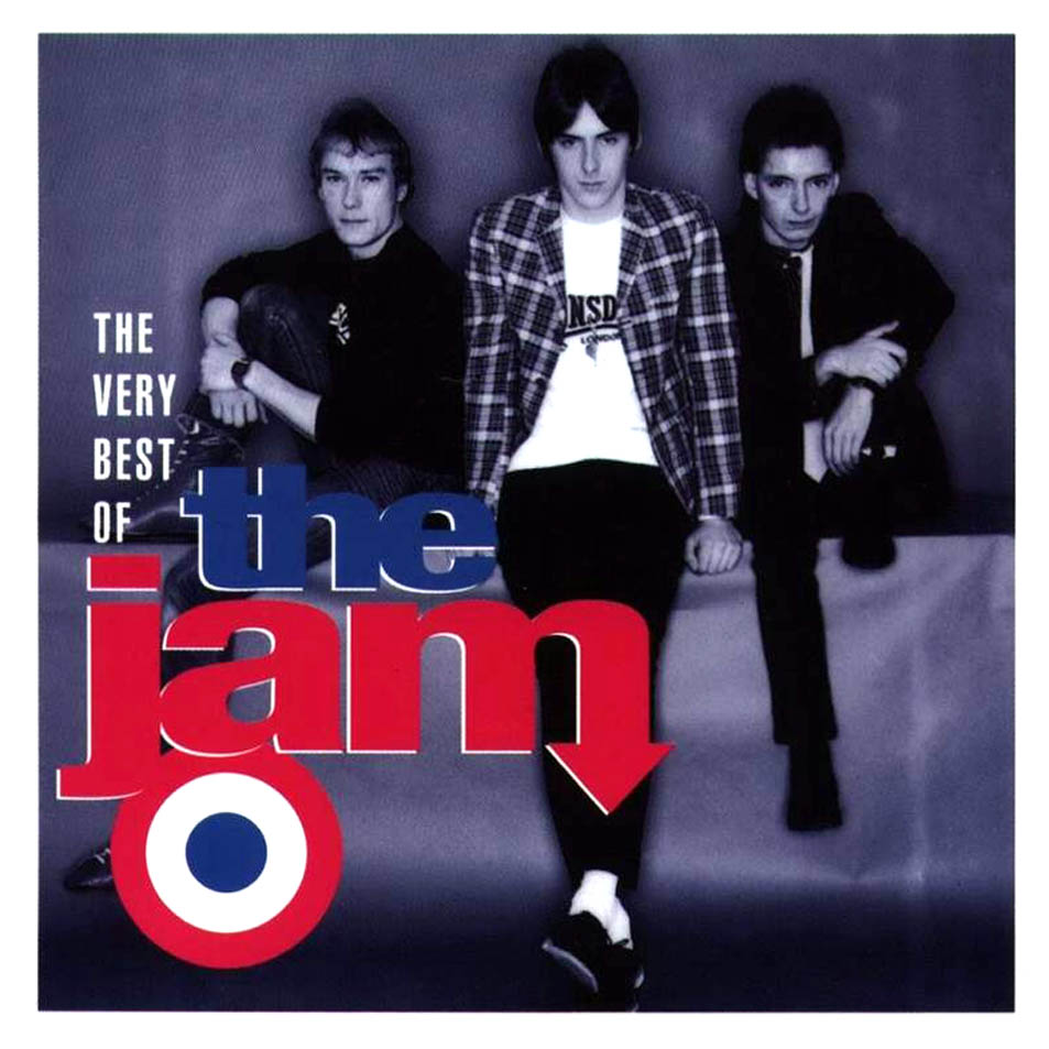 The Jam compilation album, The Very Best Of The Jam, front cover