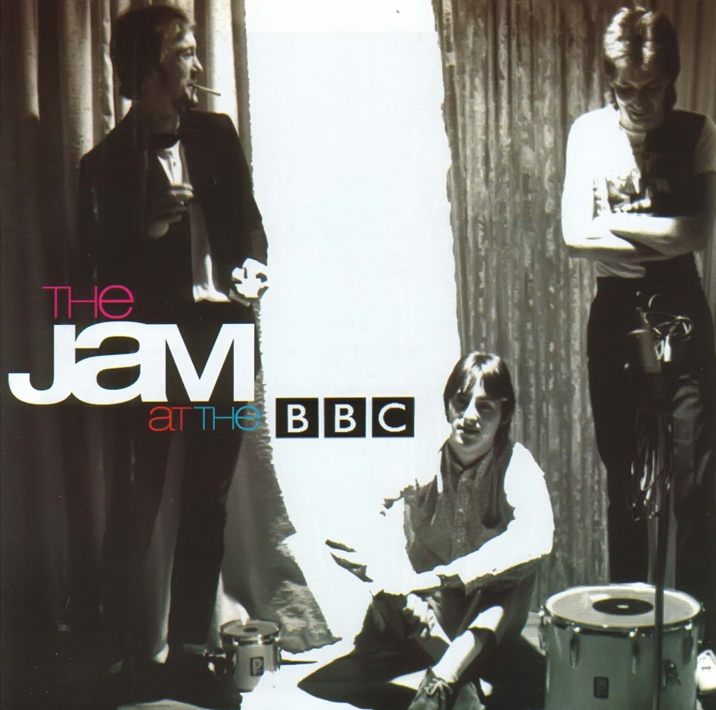 The Jam live album, Live At The BBC, front cover