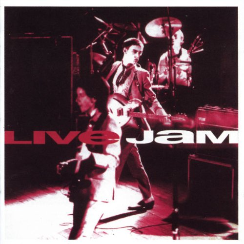 The Jam live album, Live Jam, front cover