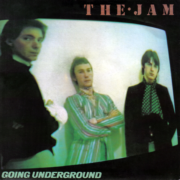 The Jam single Going Underground, front cover