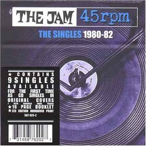The Jam single box set 45rpm - The Singles 1980-82, front cover