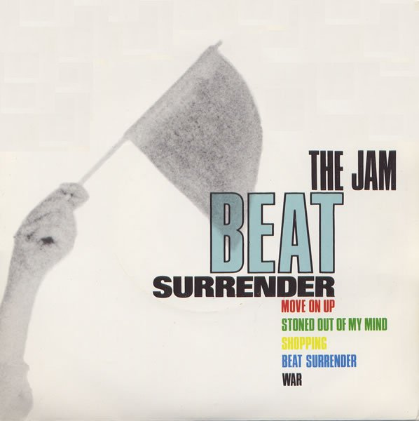 The Jam double single Beat Surrender, front cover