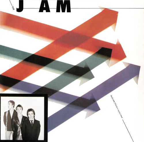 The Jam single David Watts, front cover