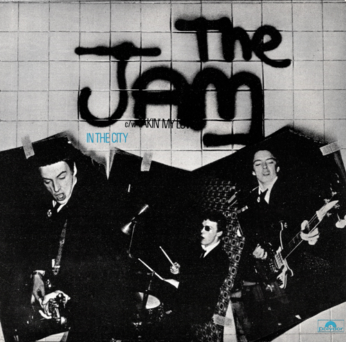 The Jam single In The City - front cover