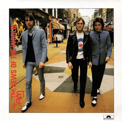 The Jam single News Of The World, front cover