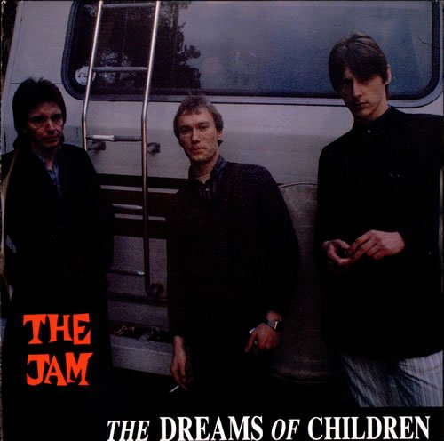 The Jam single The Dreams Of Children, front cover