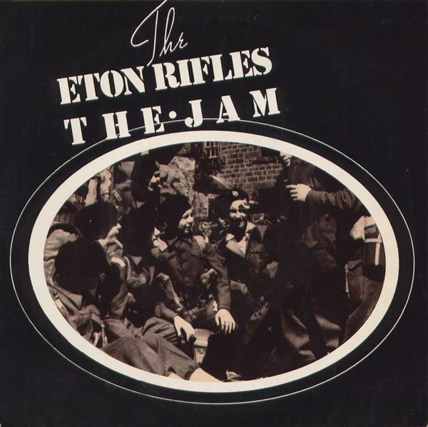 The Jam single The Eton Rifles, front cover