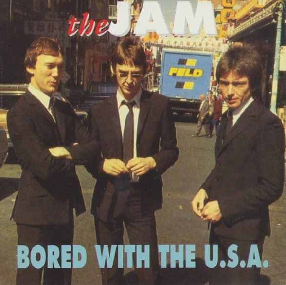 The Jam bootleg album, Bored With The USA - front