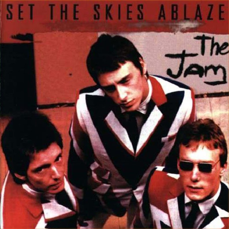 The Jam Bootleg - Set The Skies Ablaze - Front Cover